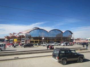 12077 - Train then bus then bus to La Paz(new bus station in Oruro)