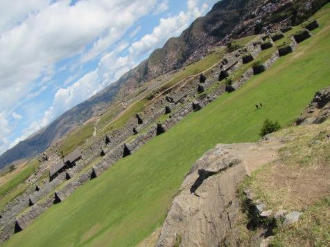 12201 - walking around four historical site near Cusco