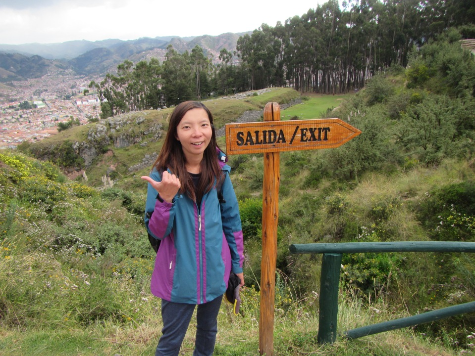 12216 - walking around four historical site near Cusco