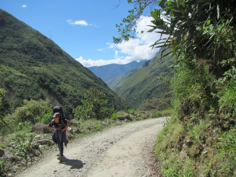 12280 - the first day of our walk from Santa Teresa to Aguas Calientes