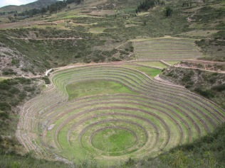 12522 - bus to and walk from ollantaytanbo to Moray and Maras