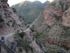 12571 - bus to and walk from ollantaytanbo to Moray and Maras