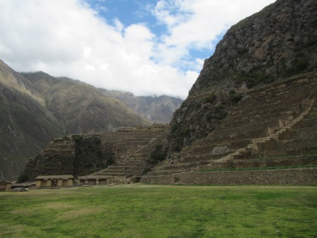 12597 - walk around ollantaytanbo