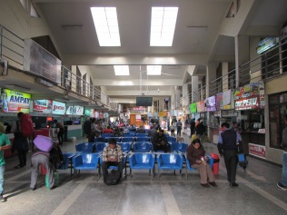 12627 - ride from Cusco to Lima(inside the bus station)