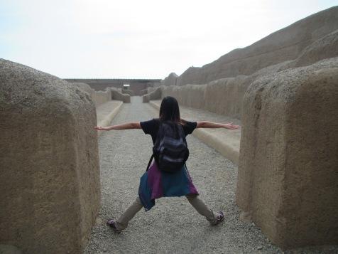 12707 - walking around the Ruinas de Chan-Chan