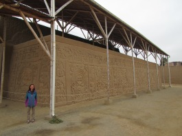 12732 - walking around the Huaca La Esmeralda and the old colonal townsite in Trujillo