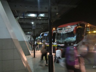 12770 - the ride from Trujilo to Guayaquil(inside the bus station)