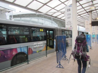 12844 - bus from Guayaquil to Quito (city bus)