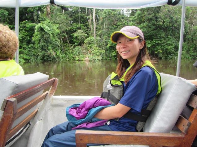 13023 - Day 2 on our river cruise of the Amazon (Rio Napo)
