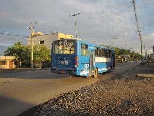 13287 - bus ride from El Coca to Quito(outside city bus for El Coca)