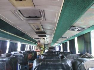 13575 - land ho the ride to Panama City (inside the bus to panama City)