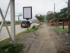 13813 -the bus ride from Tegucigalpa to Guatemala City (outside bus)