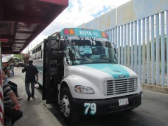 14078 -the ride heading north from mexico city to the USA border town - day 2(outside city bus)